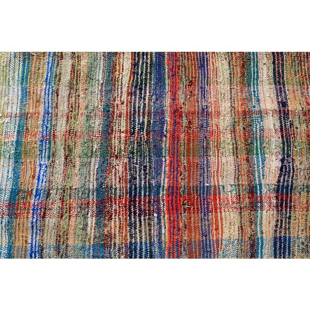 Vintage Turkish Hand-Made Flatweave Kilim Rug - 7′3″ × 10′5″ - Image 5 of 5