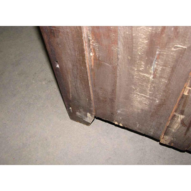 Stately Walnut Burled Panel Dresser For Sale - Image 10 of 10
