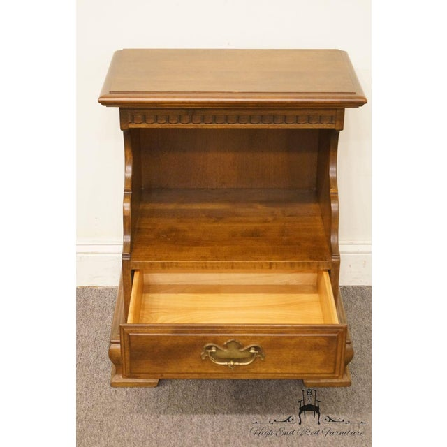 Ethan Allen Classic Manor Cabinet Nightstand For Sale In Kansas City - Image 6 of 13