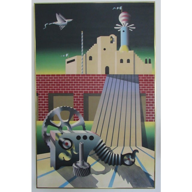 Industrial Age Painting - Image 2 of 6