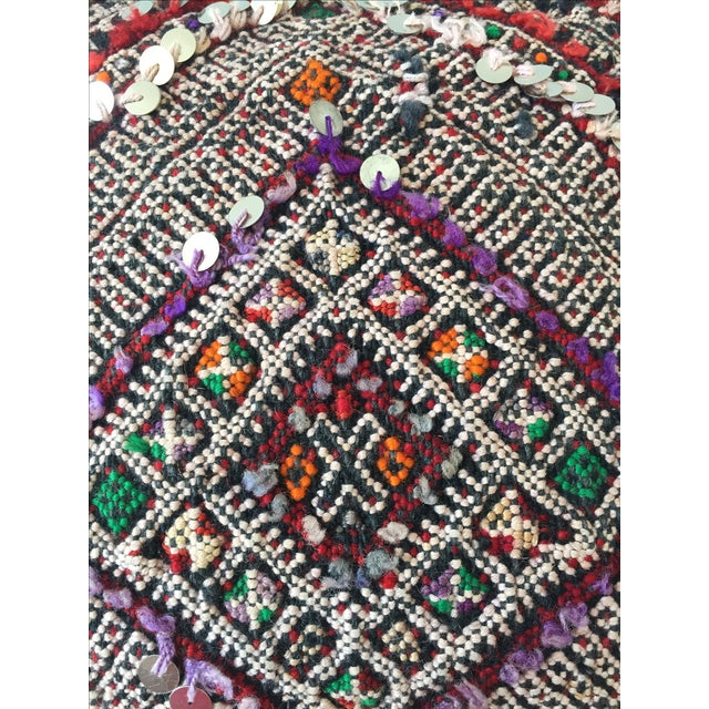 Moroccan Dhurrie Pillow - Image 4 of 8