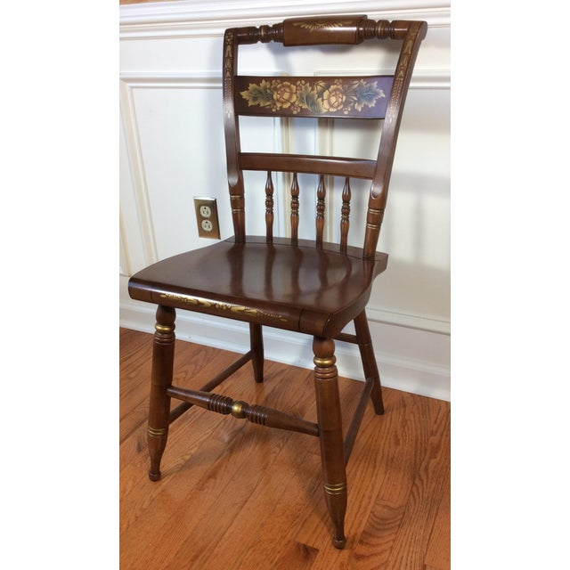 Vintage Hitchcock Inn Chair - Image 2 of 8