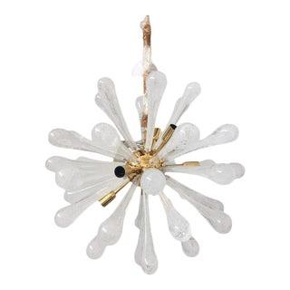 Contemporary Murano Glass Sputnik Chandelier Price: $2,160 Was: $2,400   For Sale