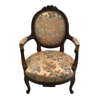 Louis XVI Style Armchair For Sale