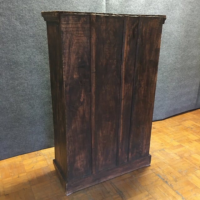 Refinished Antique Wooden Armoire - Image 10 of 10