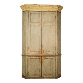 Ralph Lauren Painted Corner Cabinet
