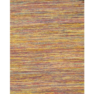 Pasargad Ny Modern Sari-Silk Flat Weave Rug - 9' X 12' For Sale