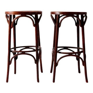 Mid-Century Bentwood Stools For Sale
