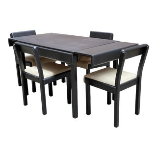 Russel Wright for Conant Ball Table and Chairs For Sale