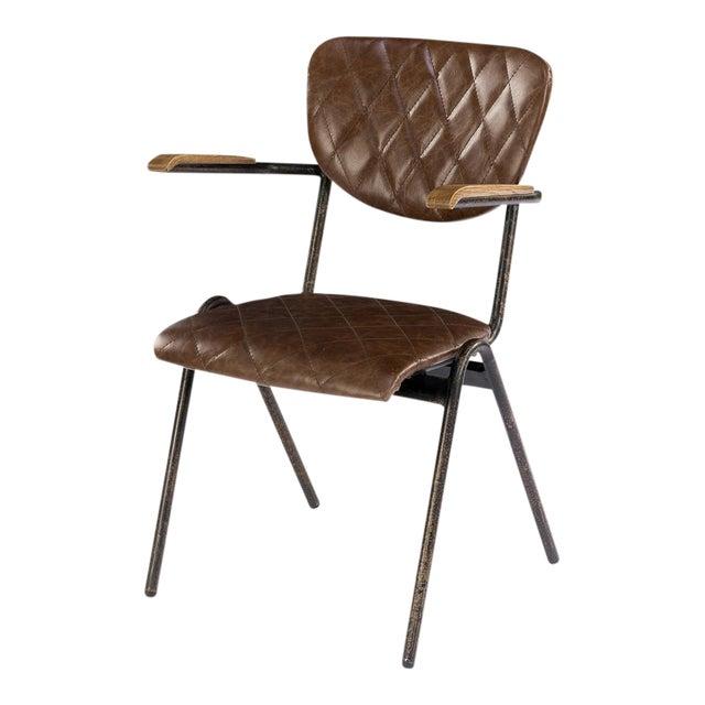 Dublin Metal Dining Chair: Sarreid Ltd Dublin House Chairs- A Pair