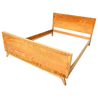 Paul Frankl for Brown Saltman Full Size Bed For Sale