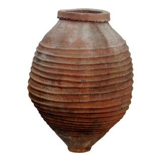 Large Antique Terracotta Planter For Sale