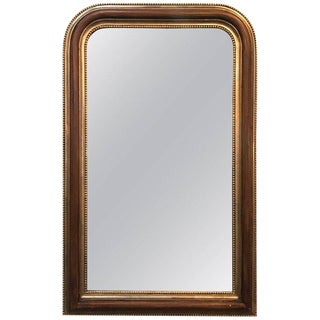 LaBarge Louis Philippe Style Parcel-Gilt Mirror For Sale