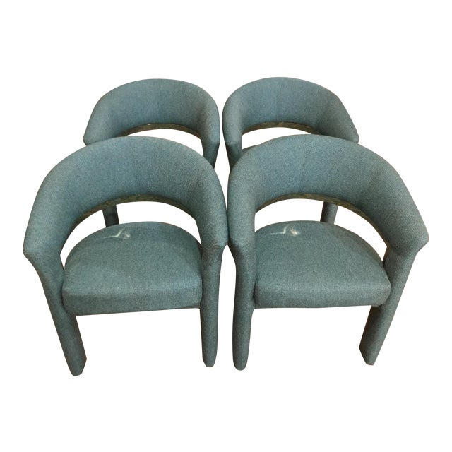 Vintage Milo Baughman for Carson Chairs- Set of 4 For Sale