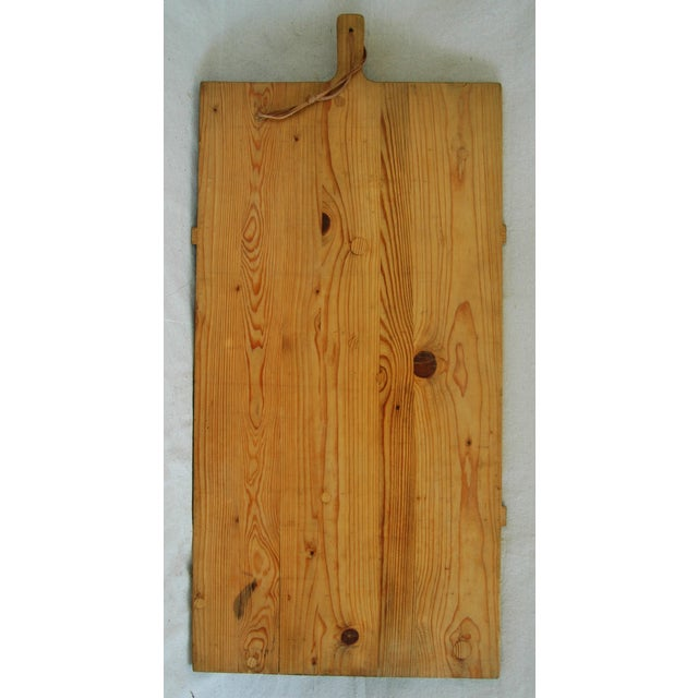 1920s Large French Harvest Bread Cheese Board - Image 4 of 8