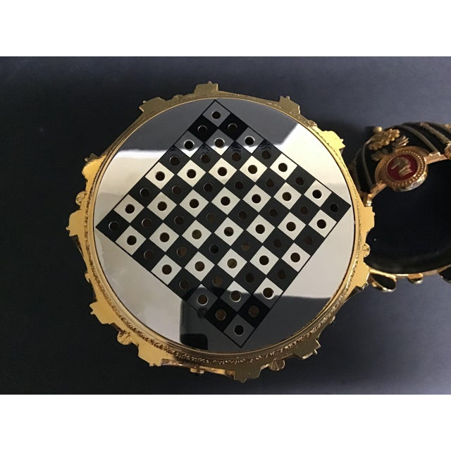 """Traditional The Franklin Mint House of Faberge """"The Imperial Jeweled Egg Chess Set"""" For Sale - Image 3 of 8"""