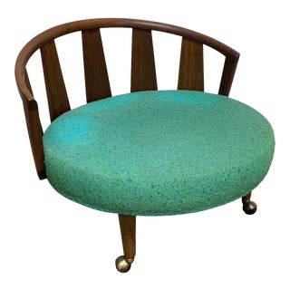 Adrian Pearsall Saucer Circle Lounge Chair For Sale