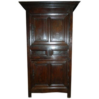 French Oak Cabinet or Bonnetiere, 18th Century For Sale