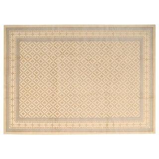 Stark Studio Rugs Traditional Oriental Tibetan Wool and Silk Rug - 8' X 10' For Sale