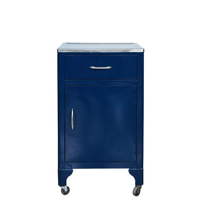 Blue FPI Industry 1964 Metal Cabinet For Sale In Los Angeles - Image 6 of 6
