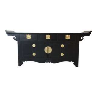 Michael Taylor for Baker Far East Collection Chinoiserie Sideboard Credenza