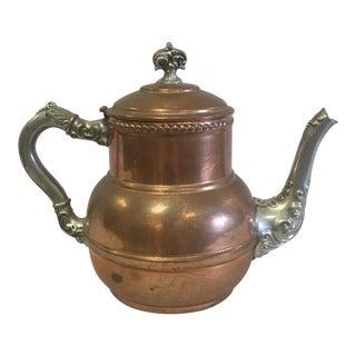 Vintage Copper Coffee Pot For Sale