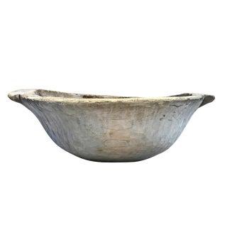 Large 19th Century European Dough Bowl For Sale