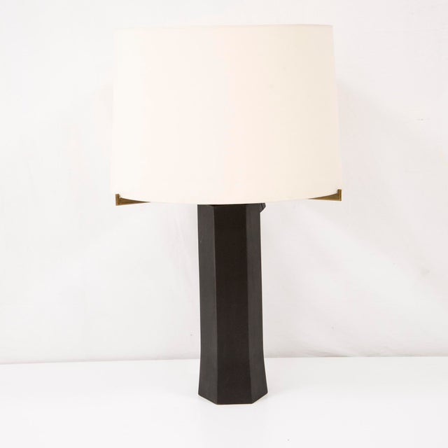 1970s Antoine Callebaut - Pair of Lamp in Bronze - Circa 1970 For Sale - Image 5 of 5
