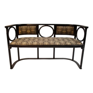 Josef Hoffmann Fledermaus Settee For Sale