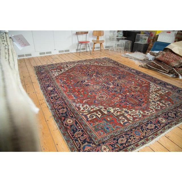 "Vintage Heriz Carpet - 8'1"" X 10'7"" - Image 2 of 10"