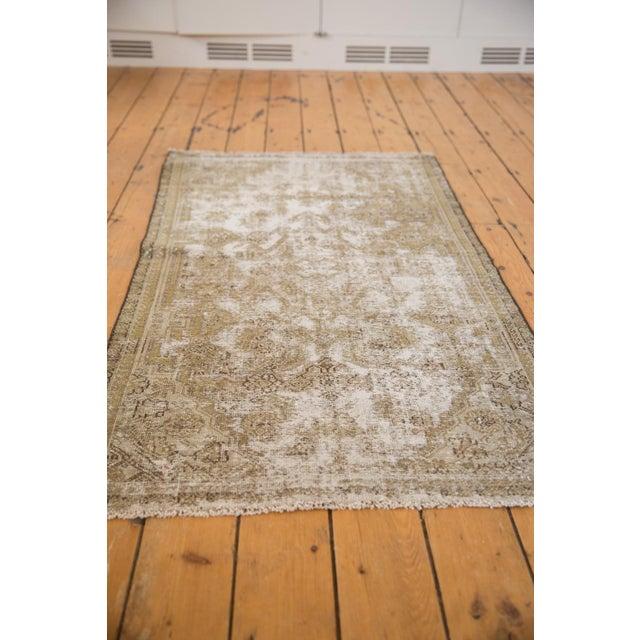 "Cotton Vintage Distressed Fragment Malayer Rug - 3'1"" X 5'1"" For Sale - Image 7 of 11"