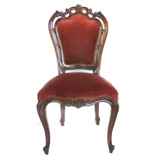 Louis XV Style Mahogany Dining Chairs With Carved Pierced Backs-Set of 6 Preview