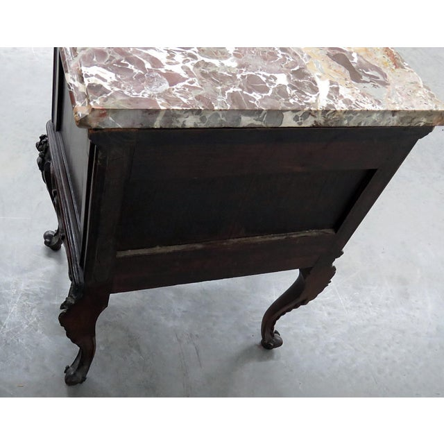 Louis XV Style Marble Top End Tables For Sale In Philadelphia - Image 6 of 10