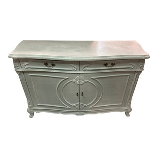 French Provincial Foyer Entrance Painted Server For Sale