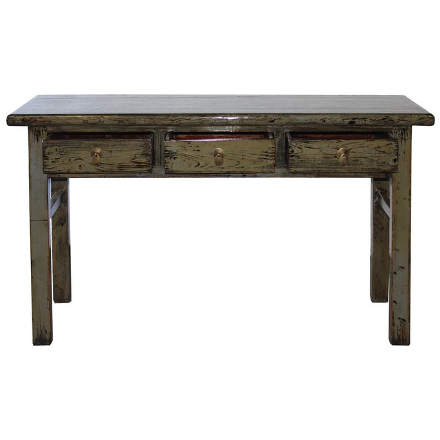Gray Console Table - Image 2 of 6