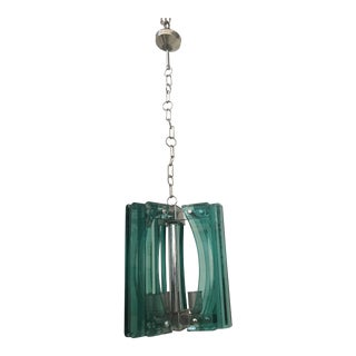 1970s Vintage Murano Glass Chandelier For Sale