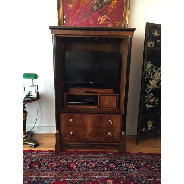 Century Furniture Biedermeier Armoire - Image 3 of 8