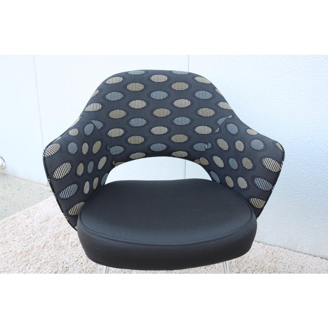 1950sMid-Century Modern Knoll Eero Saarinen Executive Arm Chairs - a Pair For Sale - Image 9 of 13