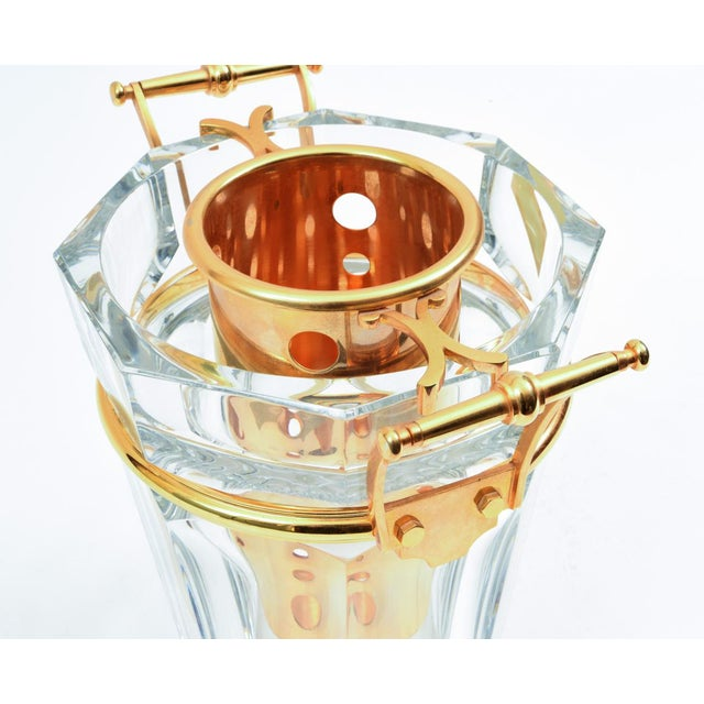 Cristalleries De Baccarat Mid-Century Baccarat Crystal Champagne / Wine Cooler Bucket For Sale - Image 4 of 13