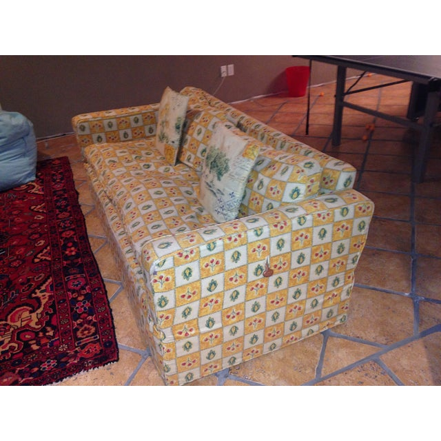 Down Filled Twin Size Sleeper Sofa - Image 5 of 11