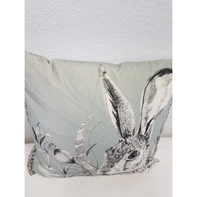 2020s Rabbit Hare Pillow - Made in Wales, United Kingdom For Sale - Image 5 of 11