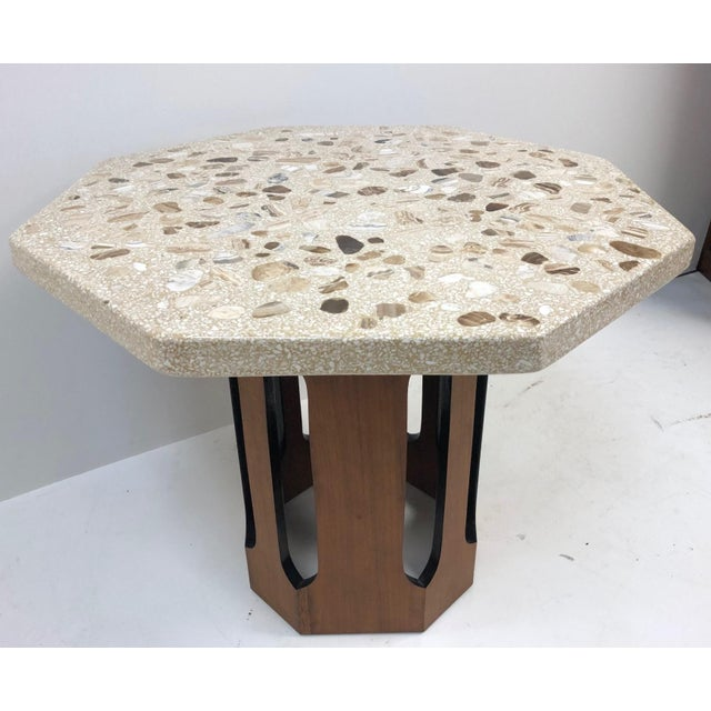 Harvey Probber Terrazzo Top Side Table For Sale In New York - Image 6 of 6