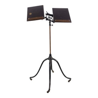 19th Century Victorian Josiah Anstice & Co. Dictionary Stand For Sale