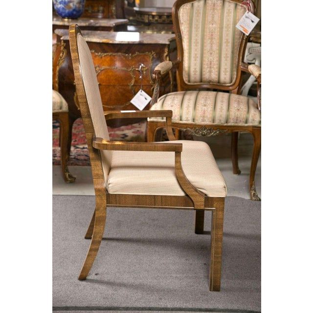 Mastercraft Art Deco Dining Chairs - Set of 6 For Sale - Image 7 of 10