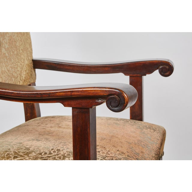 Textile 20th Century Spanish Renaissance Revival Dining Room Set For Sale - Image 7 of 10