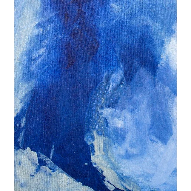 Abstract Julia Contacessi, Escaping the Night No. 1 Painting, 2016 For Sale - Image 3 of 5