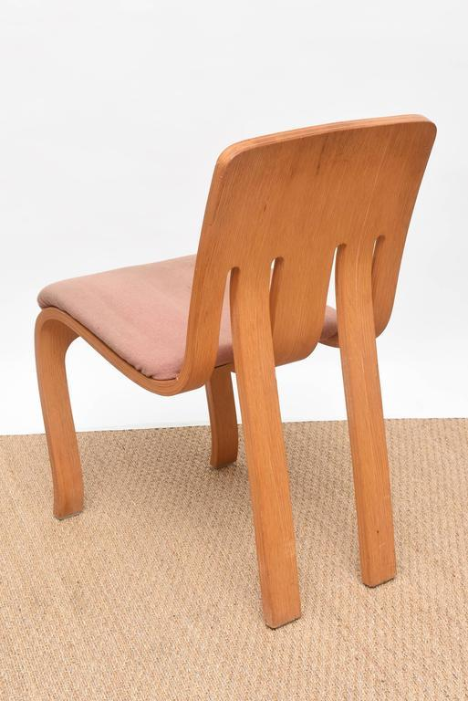 Nice Thonet Bent Plywood Chairs   Set Of 4   Image 6 Of 10