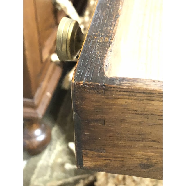 Antique English Hepplewhite Sheraton Pembroke Inlaid Drop Leaf Table Walnut For Sale - Image 10 of 13