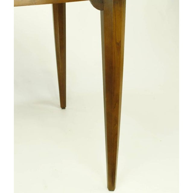 Sleek Modern Walnut Dining Table in the Style of T.H. Robsjohn-Gibbings - Image 6 of 7