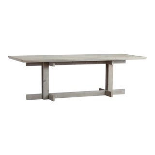 Reclaimed Wood White Wash Table For Sale